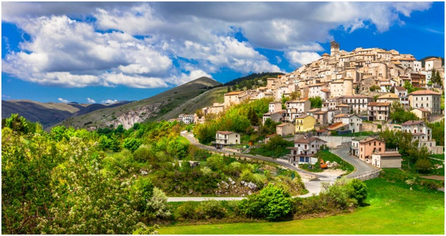 The Breathtaking Landscapes And Hilltop Houses Of Abruzzo Italy